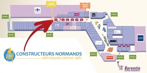 Emplacement stand Constructeurs Normand