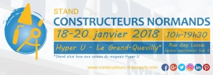 18-20 janvier 2018 - Stand à Grand-Quevilly (76120)